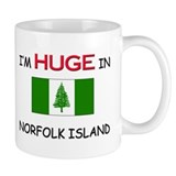 I'd HUGE In NORFOLK ISLAND Mug