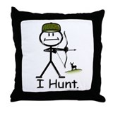 BusyBodies Bow Hunter Throw Pillow