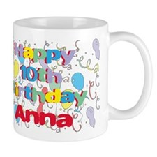 Anna's 10th Birthday Mug