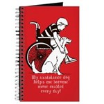 Assistance Dog - Notebook / Diary for disabled