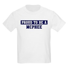Proud to be Mcphee T-Shirt