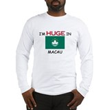 I'd HUGE In MACAU Long Sleeve T-Shirt