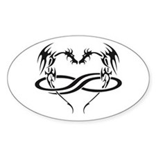 PolyDragon Oval Decal