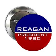 Ronald Reagan Vintage Button