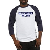 Proud to be Mcleod Baseball Jersey