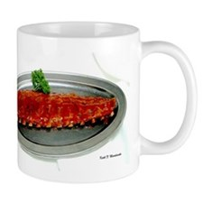Ribs Long End Mug