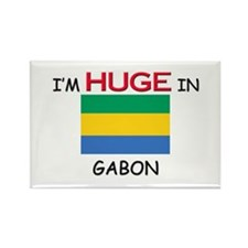 I'd HUGE In GABON Rectangle Magnet (10 pack)
