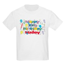 Hailey's 10th Birthday T-Shirt