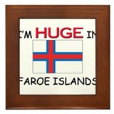 I'd HUGE In FAROE ISLANDS Framed Tile