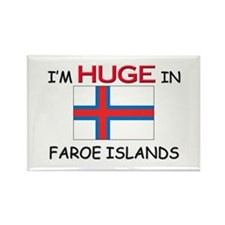 I'd HUGE In FAROE ISLANDS Rectangle Magnet (10 pac