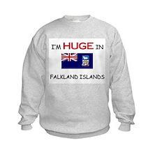 I'd HUGE In FALKLAND ISLANDS Sweatshirt