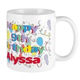 Alyssa's 9th Birthday Mug