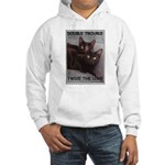 Double Trouble Hooded Sweatshirt