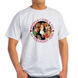 PEOPLE COME & GO - RED T-Shirt