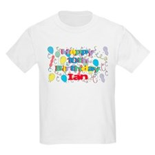 Ian's 10th Birthday T-Shirt