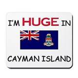 I'd HUGE In CAYMAN ISLAND Mousepad