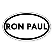 Ron Paul Oval Sticker (10 pk)