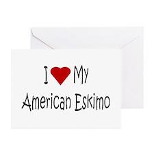 American Eskimo Dog Greeting Cards (Pk of 10)
