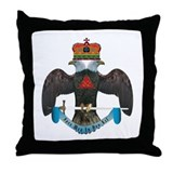 32nd Degree Master Mason Throw Pillow