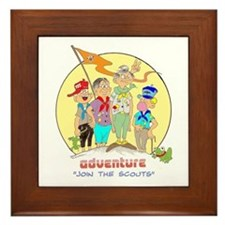 ADVENTURE-BOY SCOUTS II Framed Tile