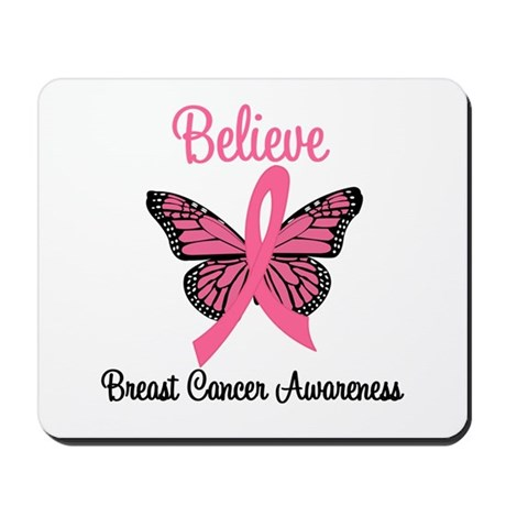 Believe Breast Cancer Mousepad
