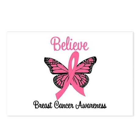 Believe Breast Cancer Postcards (Package of 8)