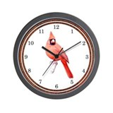 Cardinal Wall Clock