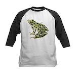 Leopard Frog Kids Baseball Jersey