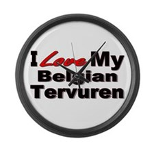 Belgian Tervuren Large Wall Clock