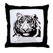 Tyger! Tyger! - Throw Pillow