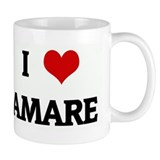 I Love AMARE Small Mugs