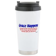 Grace Happens Ceramic Travel Mug