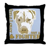 Funny Bull fighters Throw Pillow