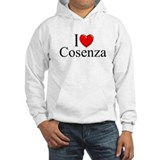 """I Love (Heart) Cosenza"" Jumper Hoody"