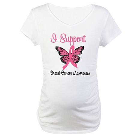 Breast Cancer Awareness Maternity T-Shirt