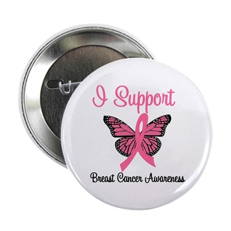 "Breast Cancer Awareness 2.25"" Button"