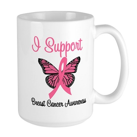 Breast Cancer Awareness Large Mug