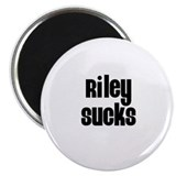 Riley Sucks Magnet