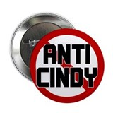 "Anti Cindy Sheehan 2.25"" Button (10 pack)"