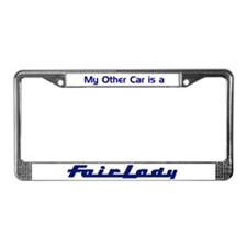 Fairlady License Plate Frame