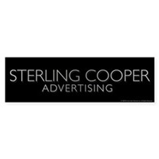 Mad Men Sterling Cooper Bumper Bumper Sticker