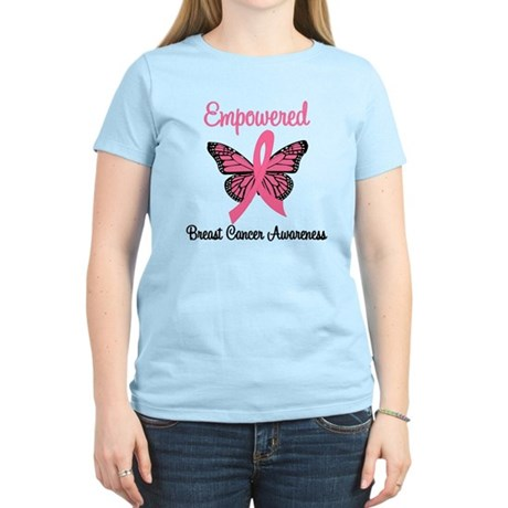 Empowered (Breast Cancer) Women's Light T-Shirt