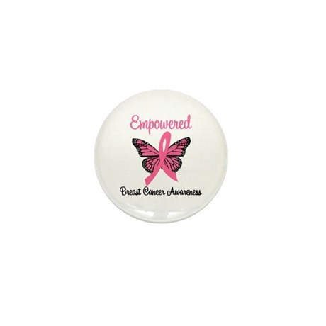 Empowered (Breast Cancer) Mini Button