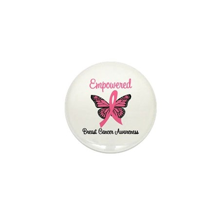 Empowered (Breast Cancer) Mini Button (10 pack)