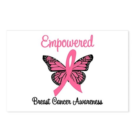 Empowered (Breast Cancer) Postcards (Package of 8)