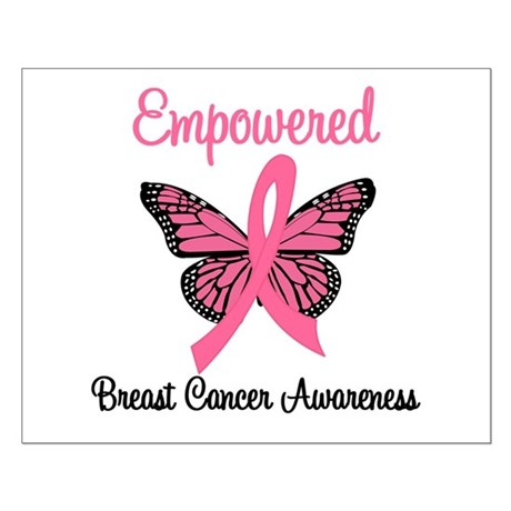 Empowered (Breast Cancer) Small Poster