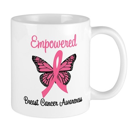 Empowered (Breast Cancer) Mug