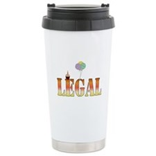 Finally Legal Birthday Ceramic Travel Mug