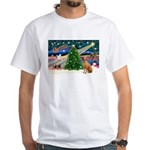 XmasMagic/Rhodesian RB White T-Shirt