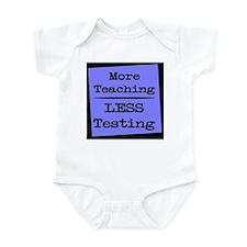 More Teaching, Less Testing Infant Bodysuit